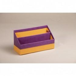 RHODIA Porte-courrier Violet 25x10x14 cm