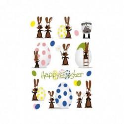 """HERMA Sticker de Pâques TREND """"fête des lapins"""""""