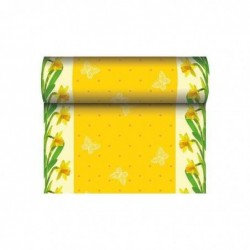 """PAPSTAR Chemin de table pour Pâques """"Daffodil"""""""