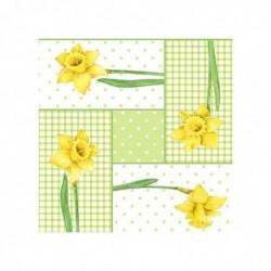 """PAPSTAR Serviettes à motifs de Pâques """"Spring Blossoms"""""""