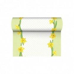 """PAPSTAR Chemin de table pour Pâques """"Spring Blossoms"""""""