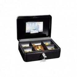 WEDO Coffret Caisse avec monnayeur 5 comp (L)250 x (P)180 x (H)90 mm Noir