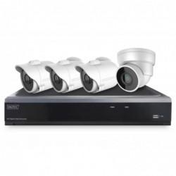 DIGITUS AHD hybride Full HD et kit d'enregistreur vidéo de réseau IP