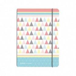 "HERLITZ Carnet de notes my.book flex Graphic Pastels ""Mix"","