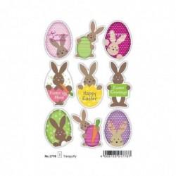 """HERMA Stickers de Pâques MAGIC TREND """"Lapins de Pâques"""""""