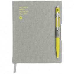 CARAN D'ACHE Coffret stylo à bille 849 & carnet de notes
