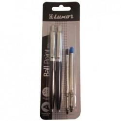 """LUXOR Set de stylo à bille rétractable """"Star"""""""
