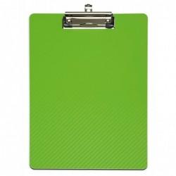 MAUL Porte-blocs avec pince MAULflexx, A4, vert clair/noir,