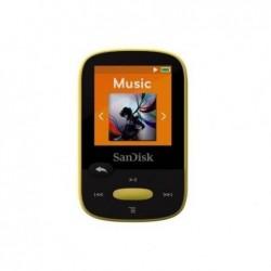 """SANDISK Lecteur MP3 """"Clip Sport"""" 8GB Jaune"""