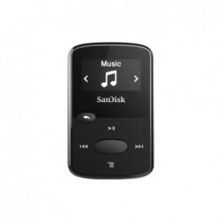 "SANDISK Lecteur MP3 ""Clip Jam"" 8GB + radio FM Ecran OLED N/B Slot MicroSD Noir B"