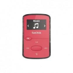 "SANDISK Lecteur MP3 ""Clip Jam"" 8GB + radio FM Ecran OLED N/B Slot MicroSD Rose N"
