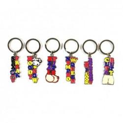 Porte-clés érotiques - 6x6 motifs différents  36 Pièces - SET-367