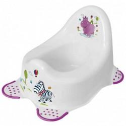 "KEEEPER kids Pot pour bébé ""adam hippo"", blanc"