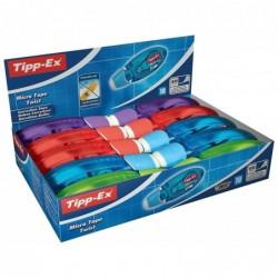 TIPP-EX Boîtex10 - Ruban 5 mm x 8 m - Correction instantanée, propre et précise- Réécrit