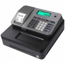 CASIO Caisse enregistreuse SE-S100S, 24 départements, argent