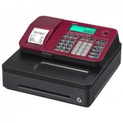 CASIO Caisse enregistreuse SE-S100S, 24 départements, rouge