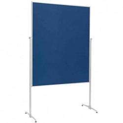 MAGNÉTOPLAN Tableau présentation, (L)1200 x (H)1500 mm, bleu