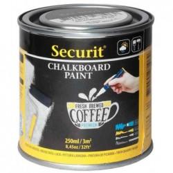 SECURIT Peinture pour tableau ardoise PAINT, noir, 250 ml