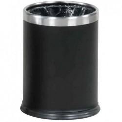 RUBBERMAID Poubelle Hide-a-Bag, ronde, 13,2 litres, noir