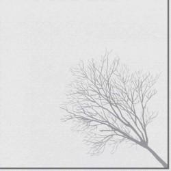 """PAPSTAR Serviettes à motif """"ROYAL Collection Grief"""", blanc/"""