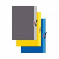 HERLITZ Chemise à rabats, A2, couleurs assorties