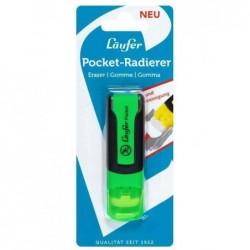 LÄUFER Gomme en plastique Pocket, vert