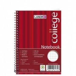 """LANDRÉ bloc-notes """"college"""", A6, 160 feuilles, quadrillé"""