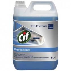 """CIF Nettoyant de surfaces Professional """"Verre & Surface"""" 5L"""