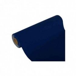 "PAPSTAR Chemin de table ""ROYAL Collection"", bleu foncé"