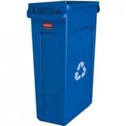 RUBBERMAID Collecteur de déchets Slim Jim avec conduits