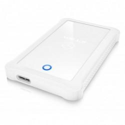 """ICY BOX Boîtier Externe pour Disque dur 2,5"""" USB 3.0 Sata blanc"""