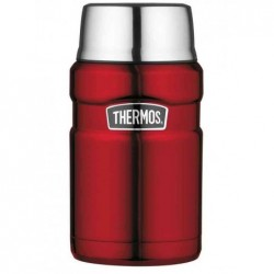 THERMOS Récipient alimentaire STAINLESS KING 0,71 Litre H 18,5 cm Rouge