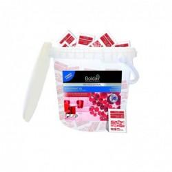 BOLDAIR Boîte 100 doses 20ml 3D Surodorant Nettoyant Sols Délices fruits rouges