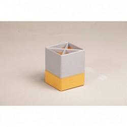 RHODIA Pot à crayons Silver 8x8x11 cm