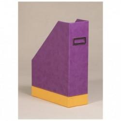 RHODIA Porte-revues Violet 10x25x31 cm