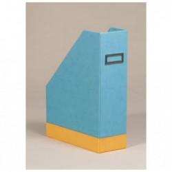 RHODIA Porte-revues Turquoise 10x25x31 cm