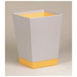 RHODIA corbeille à papier Silver 27x27x32 cm