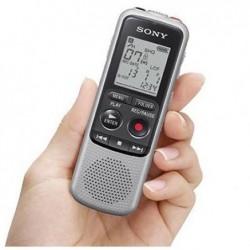 SONY Enregistreur vocal numérique ICD-BX140 - LCD - 4 Go, Gris