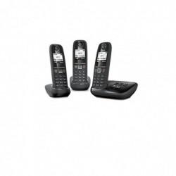 GIGASET Téléphone Répondeur Trio DECT Gigaset As470