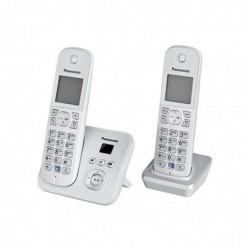 PANASONIC KX-TG6822GS Téléphone Sans fil Répondeur Ecran Argent-perle