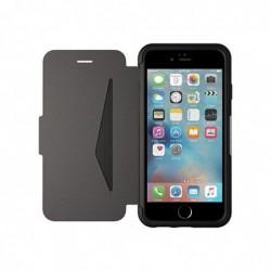 OTTERBOX Etui en cuir véritable antichoc fin/élégant pour Iphone 6 et 6S Noir