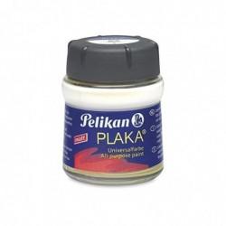 PELIKAN plaka, argent (No. 59), contenu: 50 ml dans un