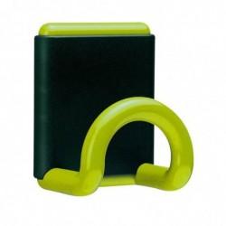 UNILUX FIL patère magnétique 1 place ABS 12 Kg Vert