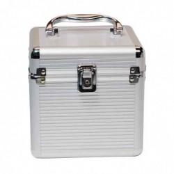 """LOGILINK Valise Protection Aluminium pour Disques Durs 4 X 8,9 cm 3,5 """" et 2 x 6,4 cm 2,5"""""""
