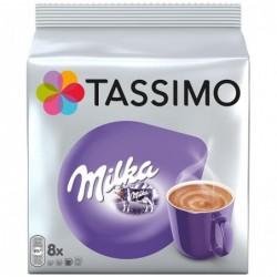 TASSIMO Tassimo Milka Lot de 8 T-Disc Chocolat Chaud