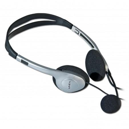 LINDY Casque avec micro et écouteurs stéréo