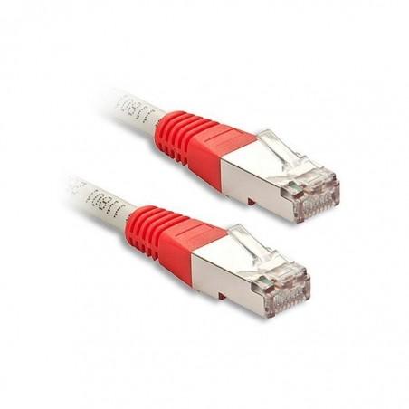 LINDY Câble réseau Patch croisé cat.6 S/FTP, cuivre, PIMF, 250MHz, gris, 20m