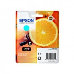 EPSON Cartouche Jet d'encre Cyan EPSON T3342 ORANGE (4 ml) pour Imprimante Jet d'encre - Capacité 300 pages