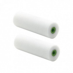 NÖLLE Set de 2 Rouleaux laqueur de petites surfaces mousse 100 mm