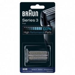 BRAUN Piece De Rechange compatible avec les rasoirs Series 3- BRAUN 30B Noire